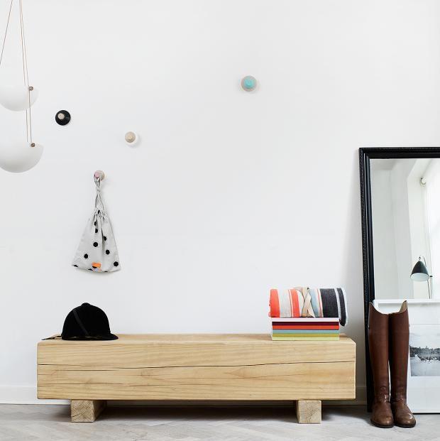 41 besten Flur Bilder auf Pinterest Schöner wohnen, Holz und Schlank - garderobe selber bauen schner wohnen