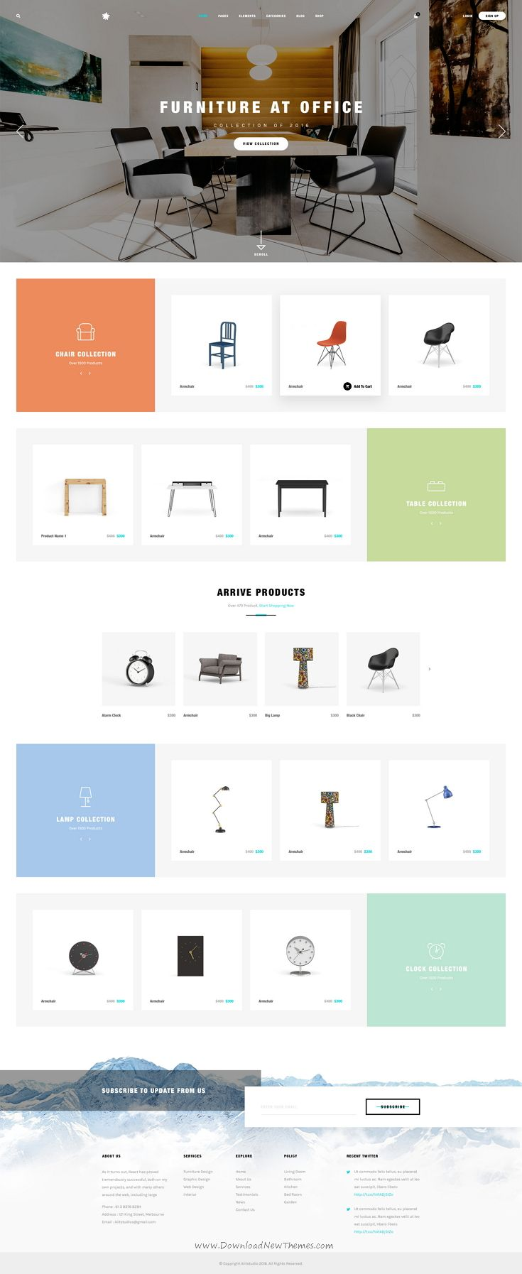 Apus - Multipurpose Funirure Shop,Interior Agency Psd Template
