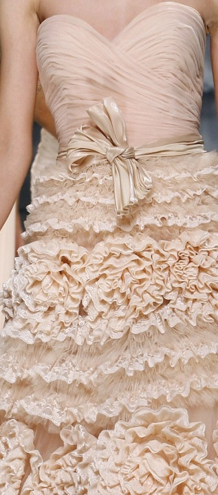 Zuhair Murad ruffle layer dress