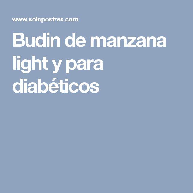 Budin de manzana light y para diabéticos