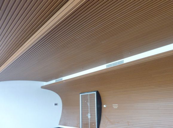 Woodn is so #light that it can be #mounted all over the walls and #ceiling without requiring a heavy and cumbersome frame.