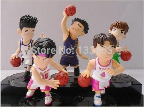 Японского Аниме Slam Dunk ПВХ Фигура Куклы, мияги Куклы, день рождения Рождественские Подарки, игрушки для подростков