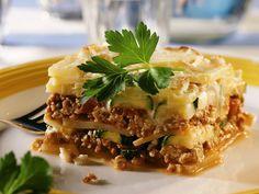 Moussaka mit Kartoffel und Zucchini - smarter - Zeit: 30 Min.   eatsmarter.de