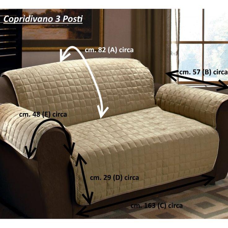 Oltre 25 fantastiche idee su copri divano su pinterest - Copridivano per divano in pelle ...