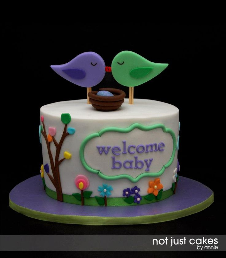 Cake van de Week – baby shower cakes