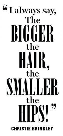 Do we agree with this one? Read on for hilarious and #inspiring quotes about #hair