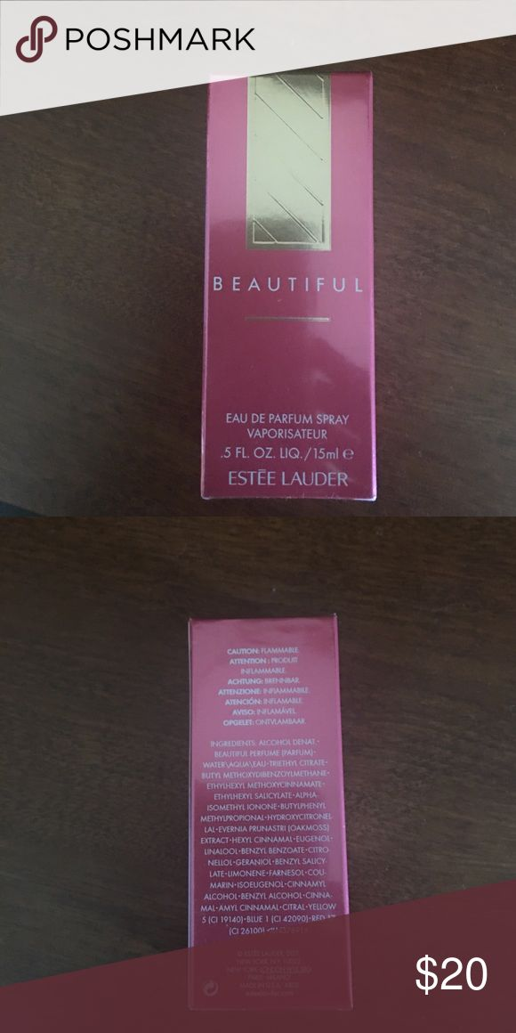 Estēe Lauder Beautiful Perfume Brand new still wrapped in plastic Estēe Lauder Beautiful Perfume Estee Lauder Other