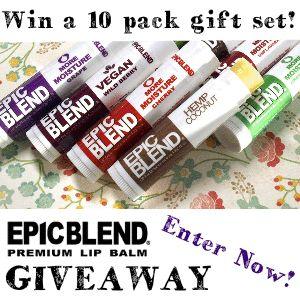 Epic Blend Premium Hemp Lip Balms: Review