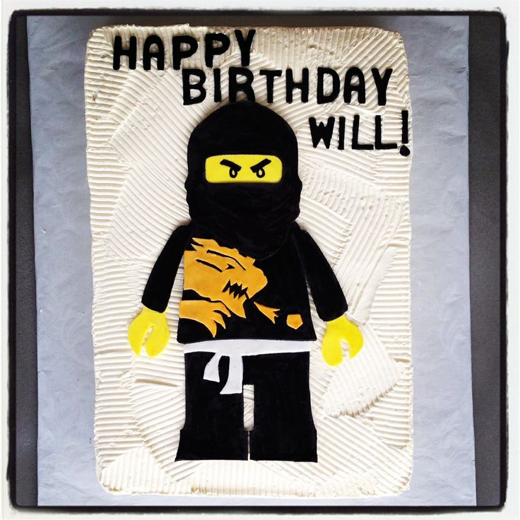 Ninjago birthday cake  #sweetsweetjules