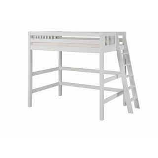 Shop for Camaflexi Twin-size White Finish High Loft Bed with Mission Headboard. Get free delivery at Overstock.com - Your Online Furniture Outlet Store! Get 5% in rewards with Club O! - 17791258