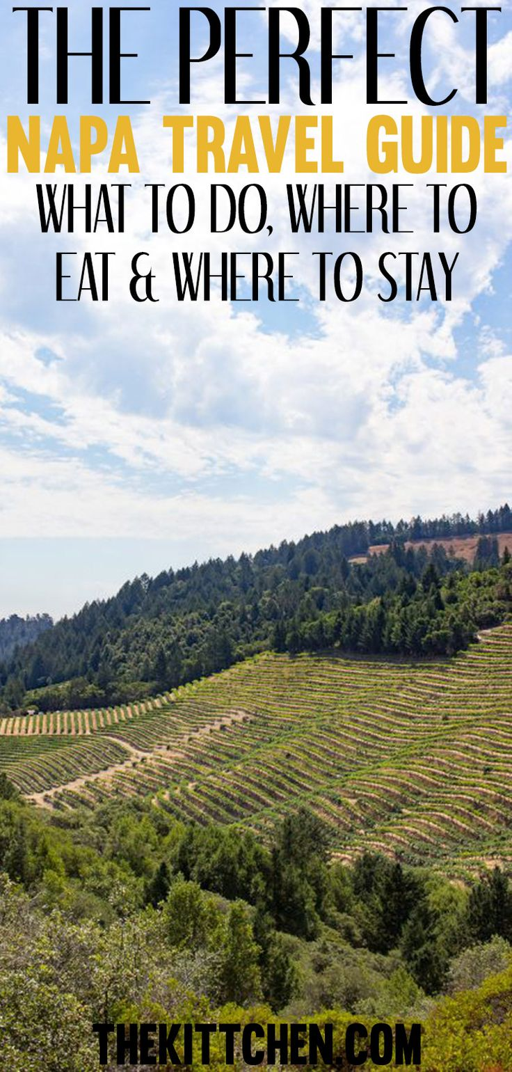 In California? Your trip is not complete without visiting Napa! Click to find out all the details to make your getaway incredible. #usa #california #napa ***************************************** Napa Valley | USA destinations | Napa Valley vacation | Napa Valley wineries | California travel
