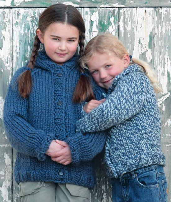 Free knitting pattern - Cardigans in Wendy Pampas Mega Chunky: http://www.mcadirect.com/shop/wendy-pampas-mega-chunky-100g-p-1810.html