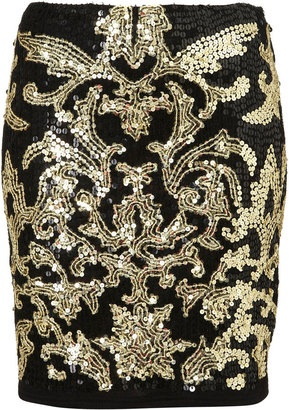 ShopStyle: Baroque Mini Bodycon