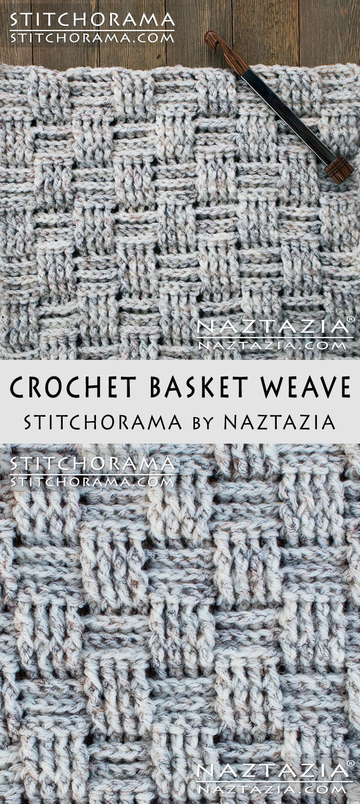 Best 25 crochet basket pattern ideas on pinterest crochet crochet basket weave stitchorama by naztazia free pattern diy tutorial youtube video by donna bankloansurffo Image collections