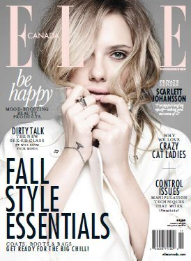 Elle Canada - November 2013 with Scarlett Johansson