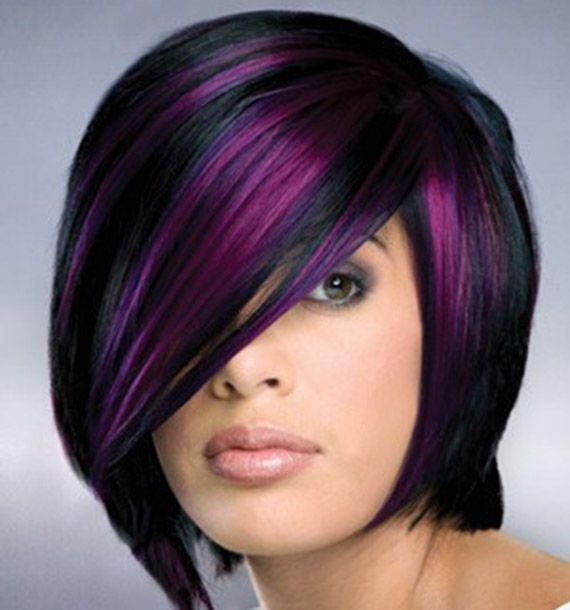 Tendenze colore capelli: viola, rosa, blu, verdi...