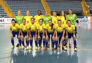 Blog Esportivo do Suíço:  Rumo ao hexa, Brasil goleia Costa Rica na estreia do Mundial de futsal feminino