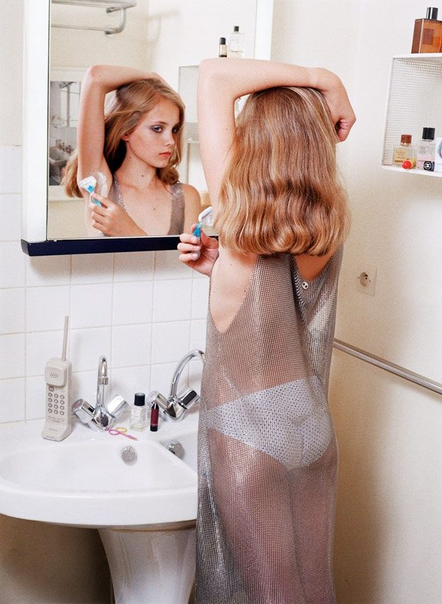 Eleanore's first shave, Richard Kern - 2003