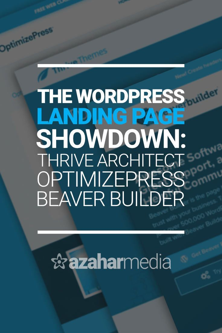 Creating conversion-focused landing pages in WordPress is a lot easier thanks to some terrific plugins. Discover which one wins in our WordPress landing page showdown: Thrive Architect vs OptimizePress vs Beaver Builder.   #wordpress #plugin #landingpage via @davidhartshorne