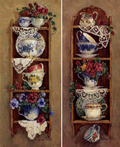 Для чайных домиков. | 138 фотографий
