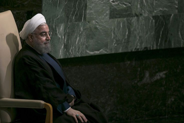 Iranian President Hassan Rouhani rebuffed a request from U.S. President Donald Trump to meet at the United Nations in New York in September, a day after the Trump made a speech highly critical of the Islamic republic, the state-run Fars News Agency said.
