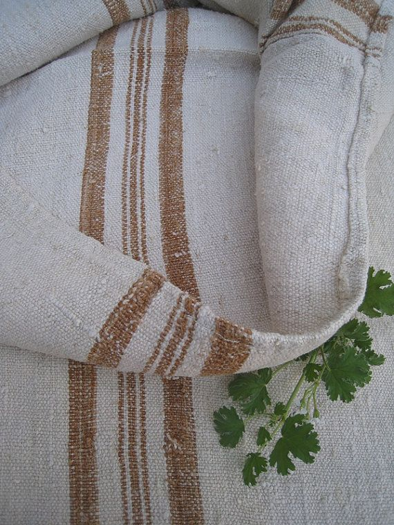 17 Best Images About Grain Sack On Pinterest Upholstery