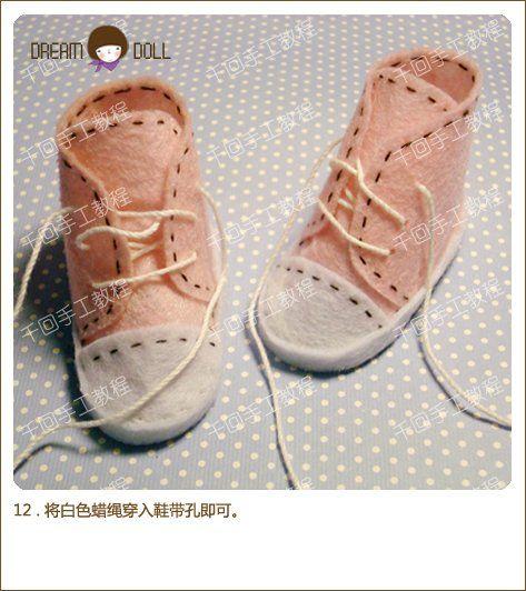 Come cucire le scarpe per le bambole o giocattoli con le proprie mani. Scarpe per bambole o giocattoli / Master Class