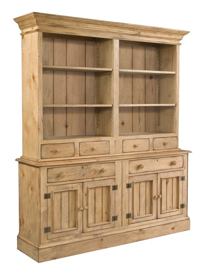 Kincaid Furniture Homecoming Buffet Open Hutch