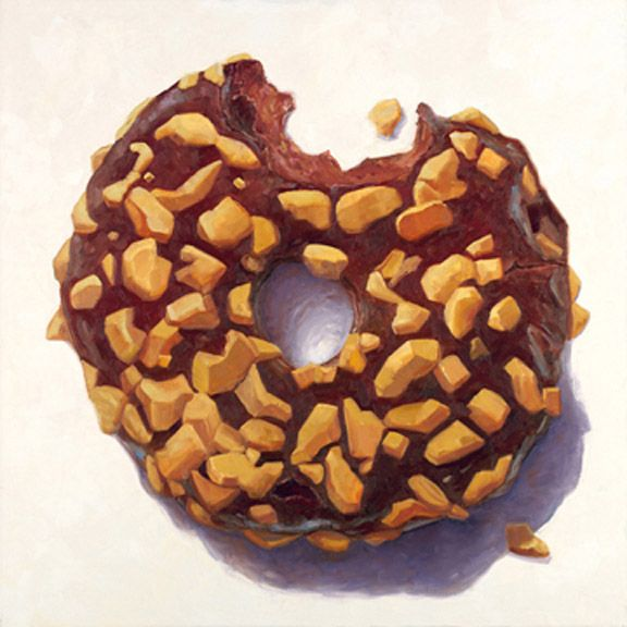 Terry Romero Paul - series of donuts exploring time, life and healthy eating