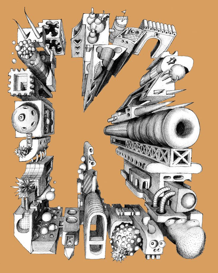 K. Every letter tells a story