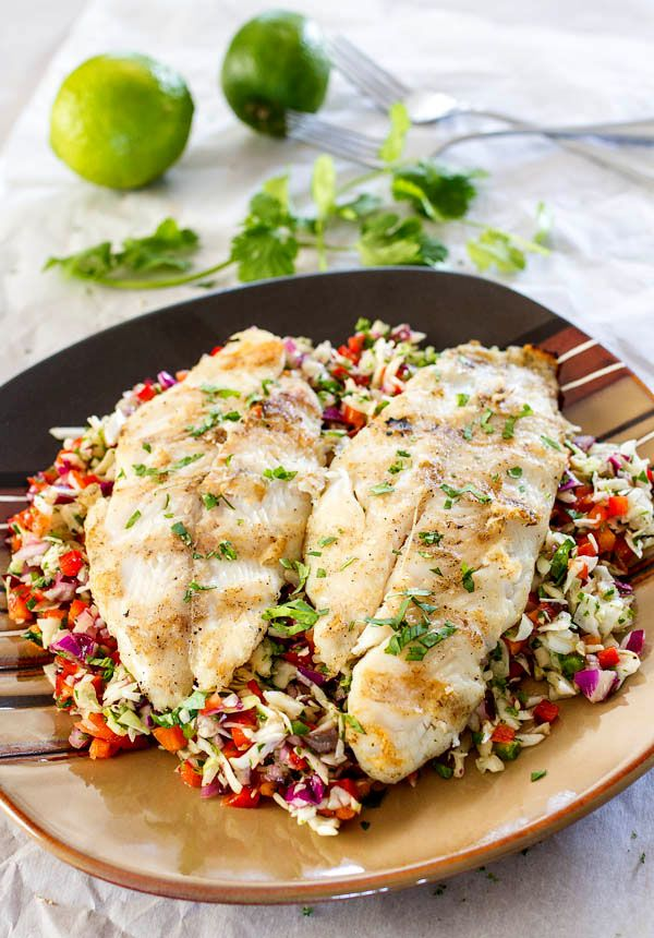 Amazing summer recipe, fresh and healthy, ready to serve in less than 30 minutes, bound to turn you into a fish lover if you are not one already. #seafood #healthyrecipes