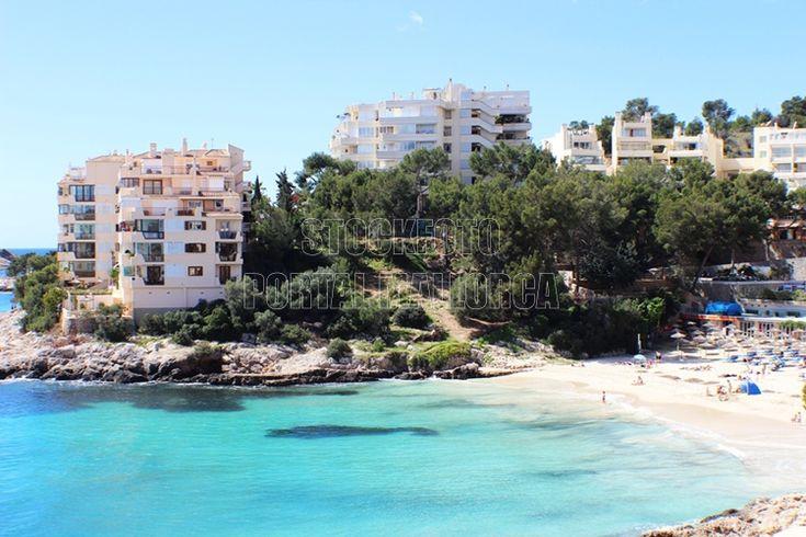 Badebucht Illetas Mallorca (Stockfoto MALLORCA) http://stockfoto.portalmallorca.de/downloads/badebucht-illetas-mallorca/