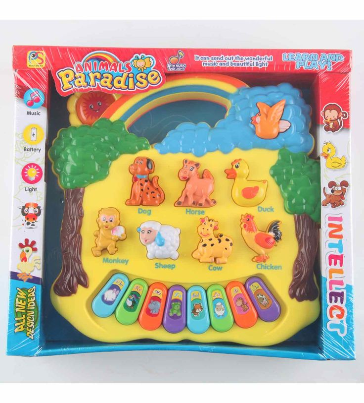 Animal Paradise learn & Play  Assorted Colour – The color of some product parts may vary from what is shown in the image  Key Features of Animal Paradise learn & Play  It create wonderful music & beautiful light It has Music Keystroke Easy to play Light weight Made of non-toxic colour  Animal Paradise learn & Play  Animal Paradise learn & Play It create wonderful music & beautiful light. It also has Music Keystroke. Animal Paradise learn & Play is easy to play your child will love