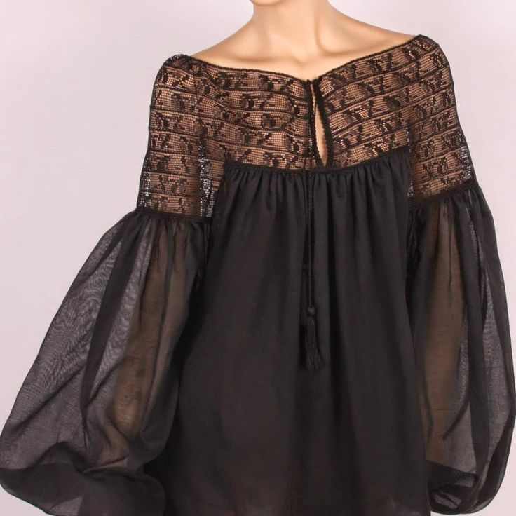 black ethno-style blouse https://www.facebook.com/fashion.from.ukraine