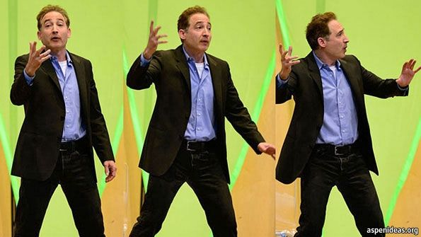 The Q: Brian Greene: Life after the Higgs | The Economist