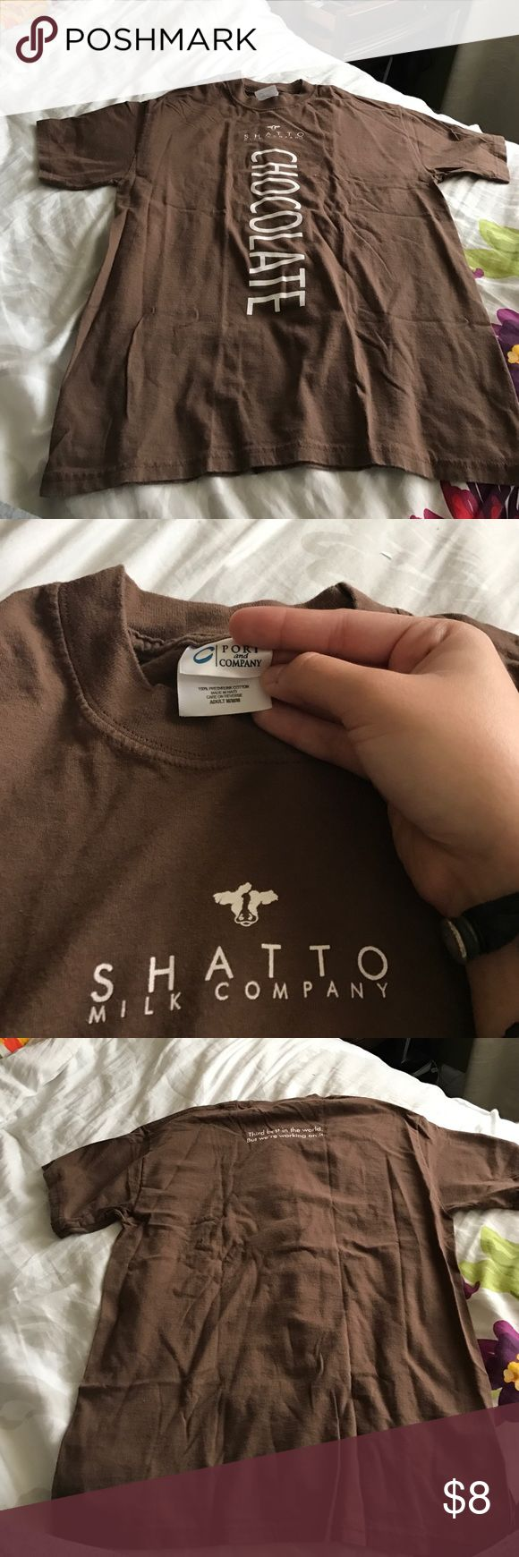 Shatto Milk Company T-shirt Almost new Shatto t-shirt. Great conditions. Super comfy!! Unisex, price is negotiable Tops Tees - Short Sleeve