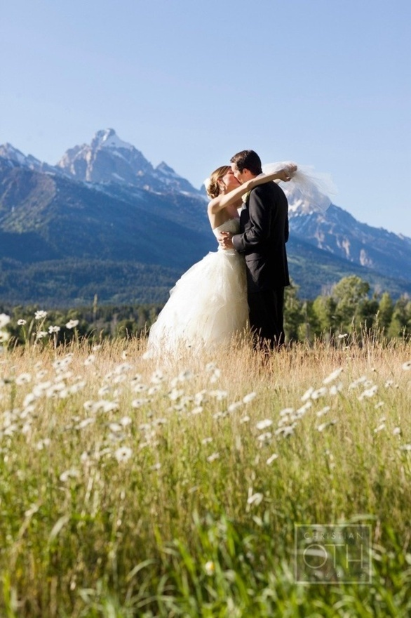 Beautiful Wyoming Wedding