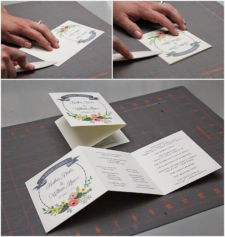 Bodas con detalle - Blog de bodas con ideas para una boda original: Programa de boda imprimible gratis