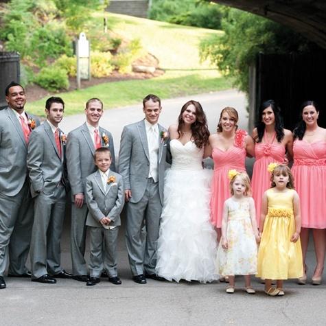 141 best Tuxedo bridesmaid colorsideas images on Pinterest