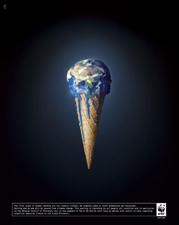4. WWF: The Earth Melting Global Warming