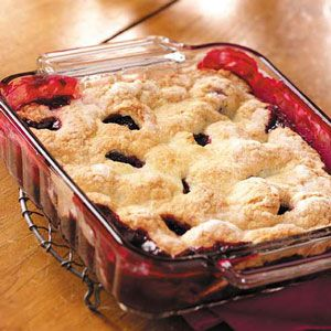 Blackberry Cobbler Recipe, i just tried this tonight! I'll let you know how it was!!