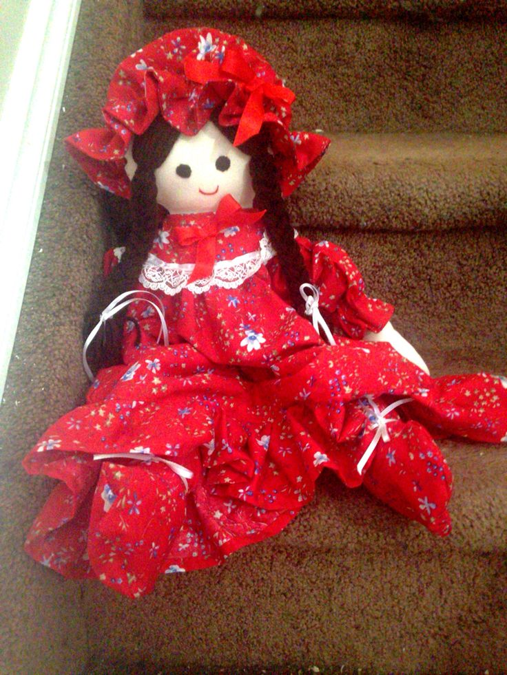 My daughter's handmade doll bought at children's hospital