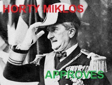 Horthy Miklós Approves