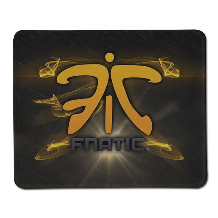 New Arrival Hot Sell Fnatic Logo Pad Soft Anti-Slip Rubber Durable Computer Gamer Mouse Pad