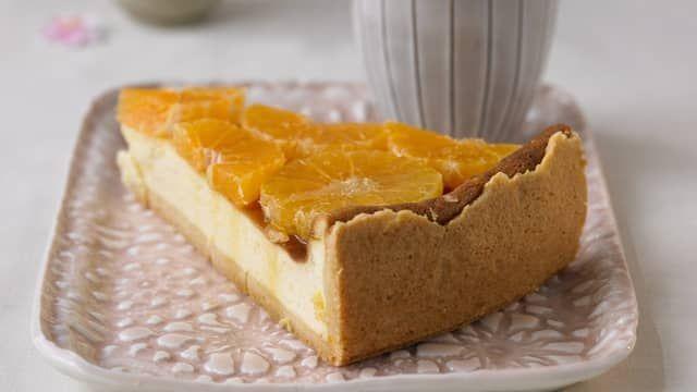 FOTOrecept: Mandarínkový cheesecake