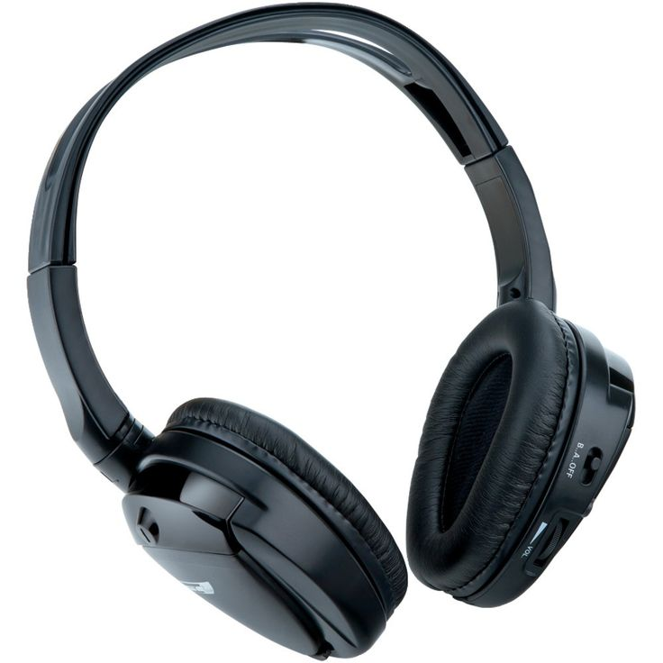 SOUNDSTORM SHP32 Dual-Channel Foldable IR Cordless Headphones