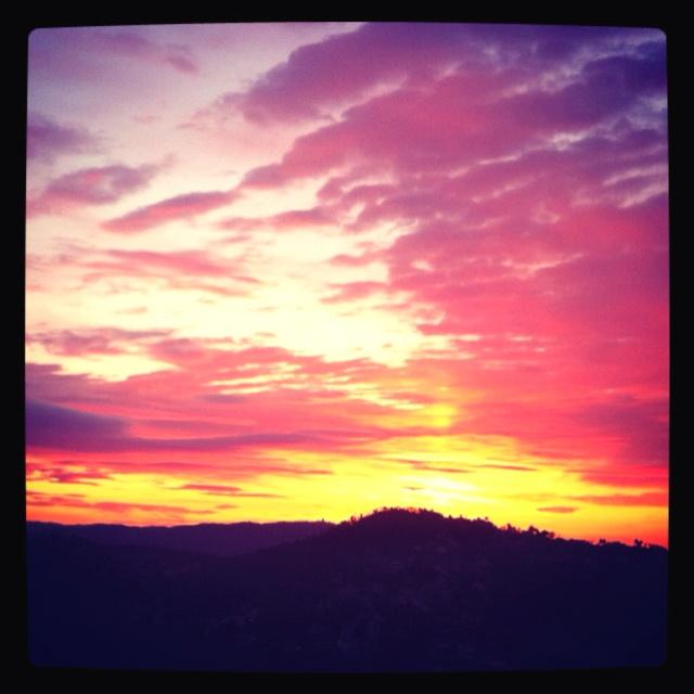 Amazing morning, Catalunya