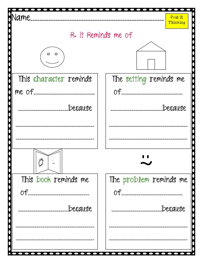 Comprehension Strategies Graphic Organizers | galleryhip.com - The ...