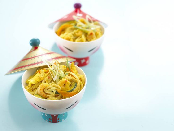 Singapore Noodles for wee ones