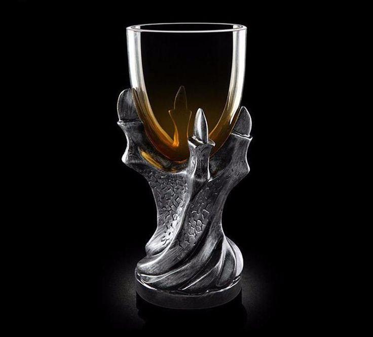 3D Skull Dragon Claw Goblet Of Power